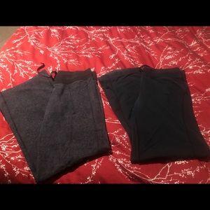 Sz 10 Two pairs ofLulu pant 2  sweat pants
